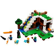 LEGO Minecraft 21134 Základňa vo vodopáde