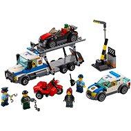 LEGO City 60143 Policie, Krádež transportéru aut