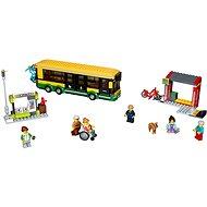 LEGO City Town 60154 Zastávka autobusu - Stavebnice