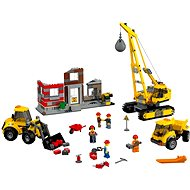 LEGO City 60076 Demolitions on Site