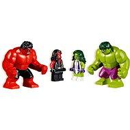 LEGO Super Heroes 76078 Hulk vs. Červený Hulk - Stavebnice