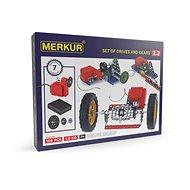 Merkur Elektromotor und Getriebe