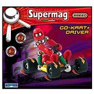 SUPERMAG go-cart and driver