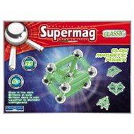 SUPERMAG - Klasik fosforeskující - Magnetická stavebnice