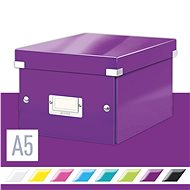 LEITZ Click-N-Store size S (A5) - magenta - archive box