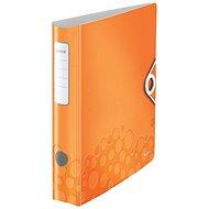 LEITZ 180 ° Active Wow 50mm - metalická oranžová - Mobilný poriadač
