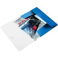 LEITZ Wow 150 listů - metalická modrá - Desky na spisy