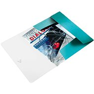 LEITZ Wow 150 sheets - ice blue - Document holder