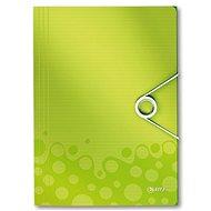 LEITZ Wow 150 listů - metalická zelená - Desky na spisy