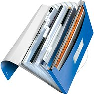 LEITZ Wow - metalická modrá - Aktovka na spisy
