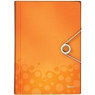 LEITZ Wow - metalická oranžová - Aktovka na spisy