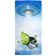 Baby towel with Alza Alien