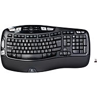 Logitech Wireless Keyboard K350 UK - Keyboard