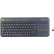 Logitech Wireless Touch Keyboard K400 Plus HU - Klávesnice