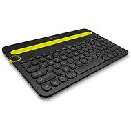 Logitech Bluetooth Multi-Device Keyboard K480 CZ černá