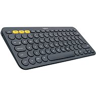 Logitech Bluetooth Multi-Device Keyboard K380 tmavosivá
