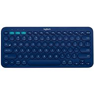 Logitech bluetooth Multi-Device Keyboard K380 modrá