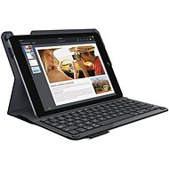 Logitech Type + keyboard cover - carbon black - Tablet Case
