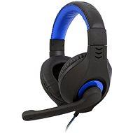C-TECH NEMESIS V2 GHS-14 (černo-modrá) - Sluchátka s mikrofonem