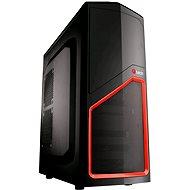 C-TECH Ladon schwarz-rot