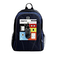 "Approx backpack 15.6 ""notebook + USB optical mouse"