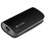 C-Tech Omega 5200 fekete bőr - Power Bank