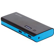 C-Tech Omega 13000mAh schwarz-blau - Power Bank