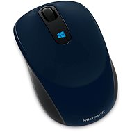 Microsoft Sculpt Mobile Mouse Wireless, modrá - Myš