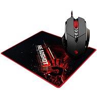 A4Tech Bloody V7 V-Track Core 2 - gamer egér, fém görgős + B-071 egérpad