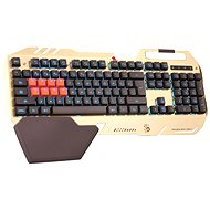 A4tech Bloody B418 CZ Gold - Tastatur