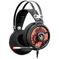 A4tech Bloody M660 červeno-černá - Sluchátka s mikrofonem