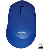 Logitech Wireless Mouse M330 Silent-Plus blau - Maus