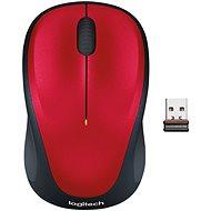 Logitech Wireless Mouse M235 rot