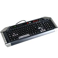 Mad Catz Cyborg V.7 Keyboard schwarz-grau ENG