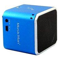 TECHNAXX MusicMan Mini modrý - Přenosný reproduktor