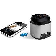 TECHNAXX Musicman Makro Bluetooth Soundstation NFC-X6 strieborný