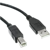 OEM USB 2.0 interface A-B 3m black - Cable