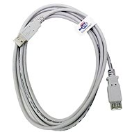 OEM USB 2.0 Extension AA 5 m gray