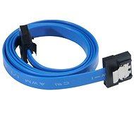 AKASA Proslim Blau SATA 0.5 m - Kabel