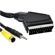 OEM SCART - S-Video/3.5mm jack connection, 5m