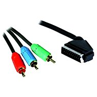 OEM SCART - 3x Cinch RGB Interconnect 3m - Video Cable