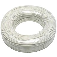 Phone Cable, 6 way, White