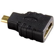 Hama HDMI, zásuvka typ A - vidlice typ D micro (HDMI F <-> HDMI micro M) - Redukce