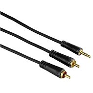 Hama 3.5mm jack connection (M) - 2 RCA (M) 1.5 m