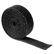 Universal retractable tape 1m black