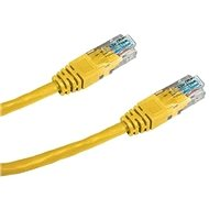 Datacom, CAT5E, UTP, 0.5m, yellow