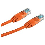 Datacom, CAT5E, UTP, 0,5m, orange - Netzkabel