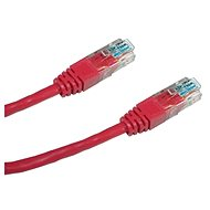Datacom, CAT6, UTP, 0.25 m red