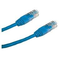 Datacom, CAT6, UTP, 0.25m modrý - Síťový kabel