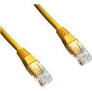 Datacom, CAT6, UTP, 2m, žlutý - Síťový kabel